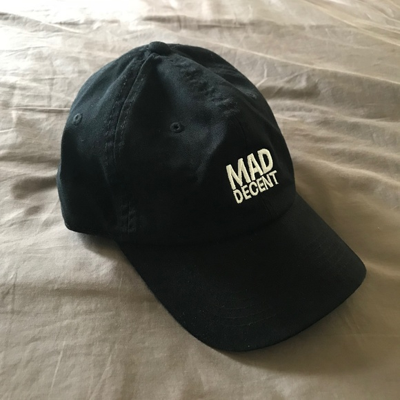 67084781cb9 Mad Decent Other - Diplo Mad Decent Logo Black Dad Hat Baseball Cap